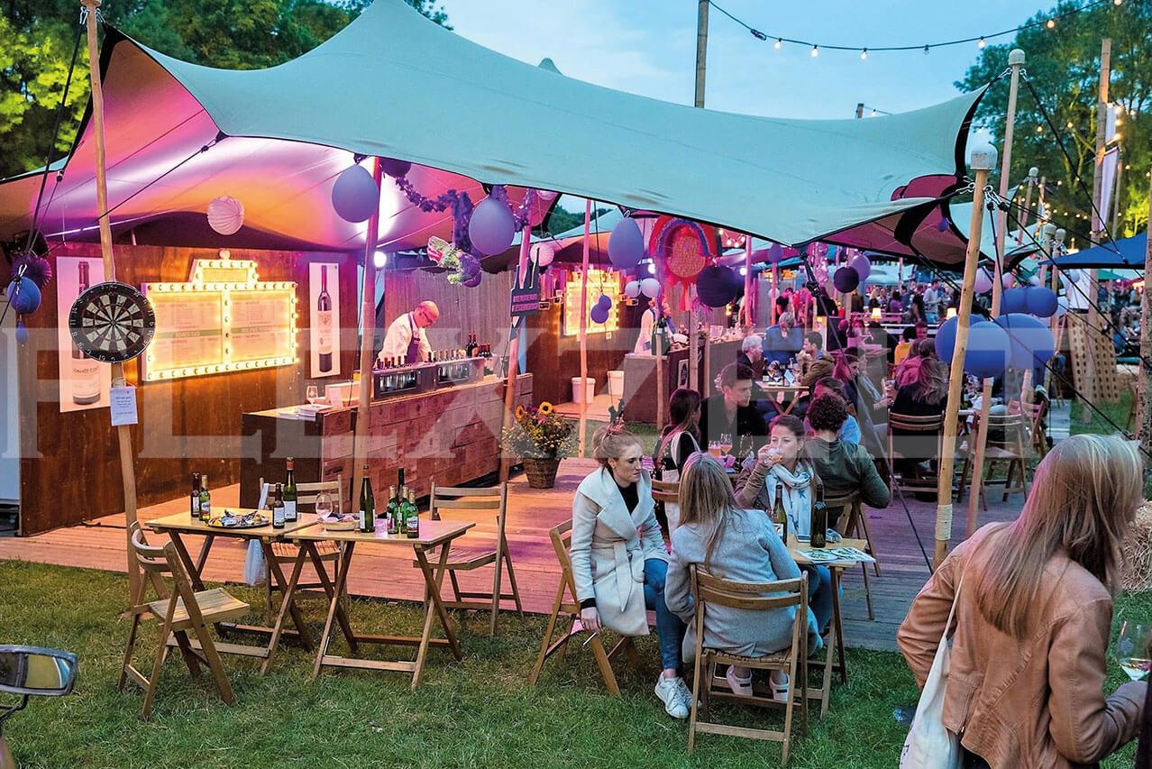 Flextent bruiloft tent