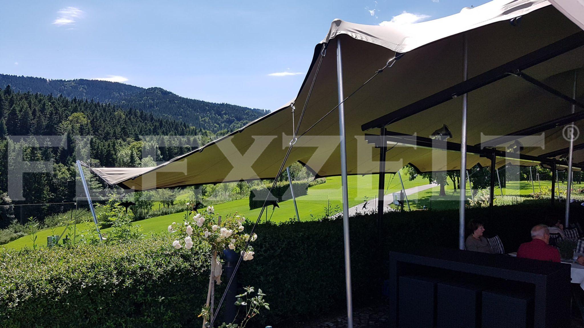 Flextent® - Flexzelt® - Terrasse - Landgut Golf