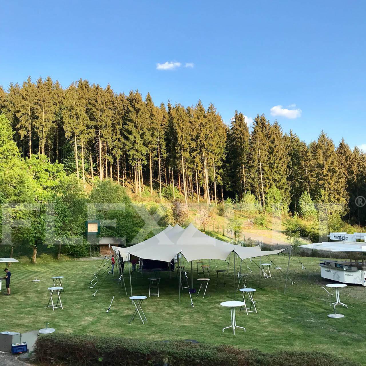 Flexzelt® - Wald - Festival - Flextent®
