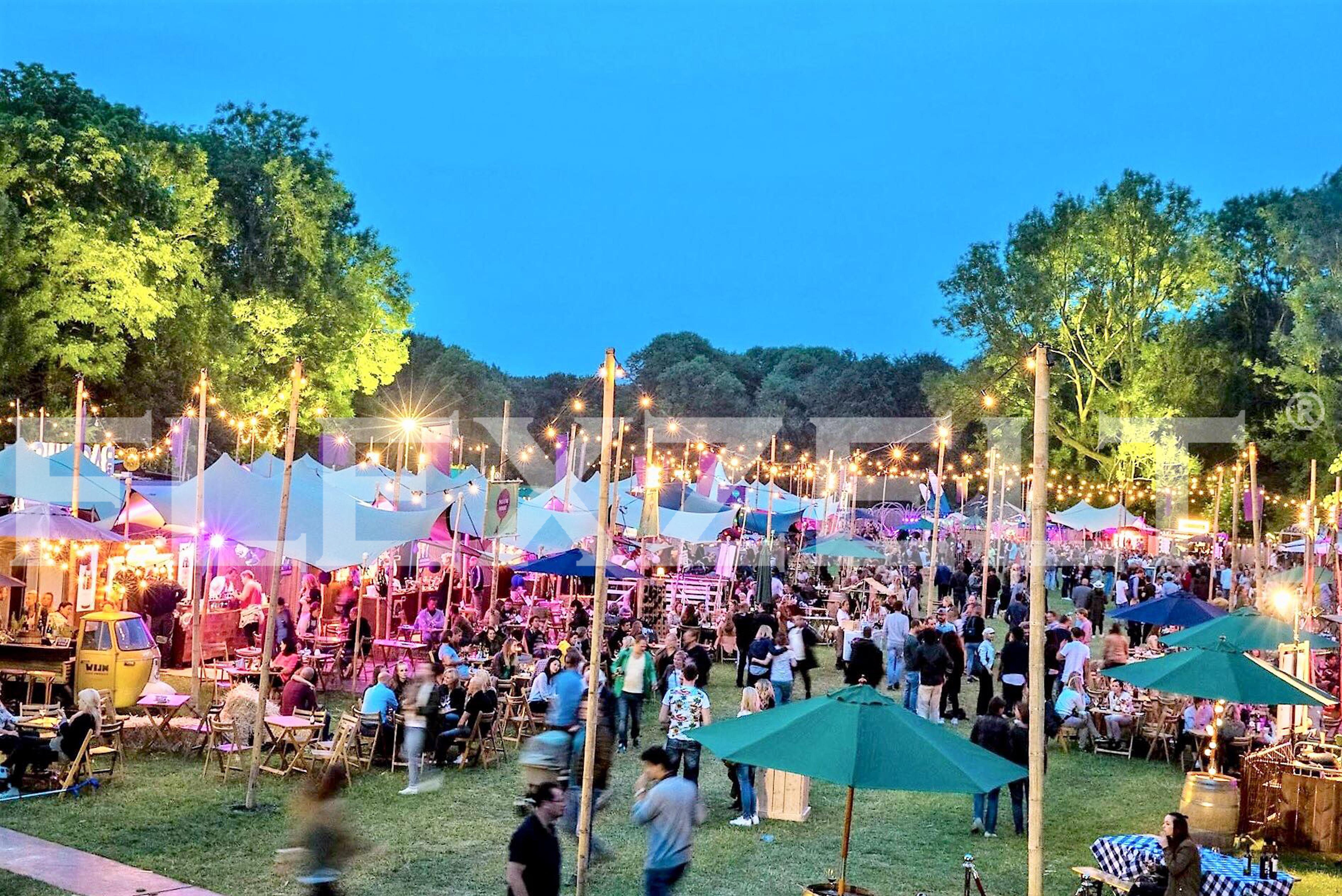 Festival zelt - Flexzelt
