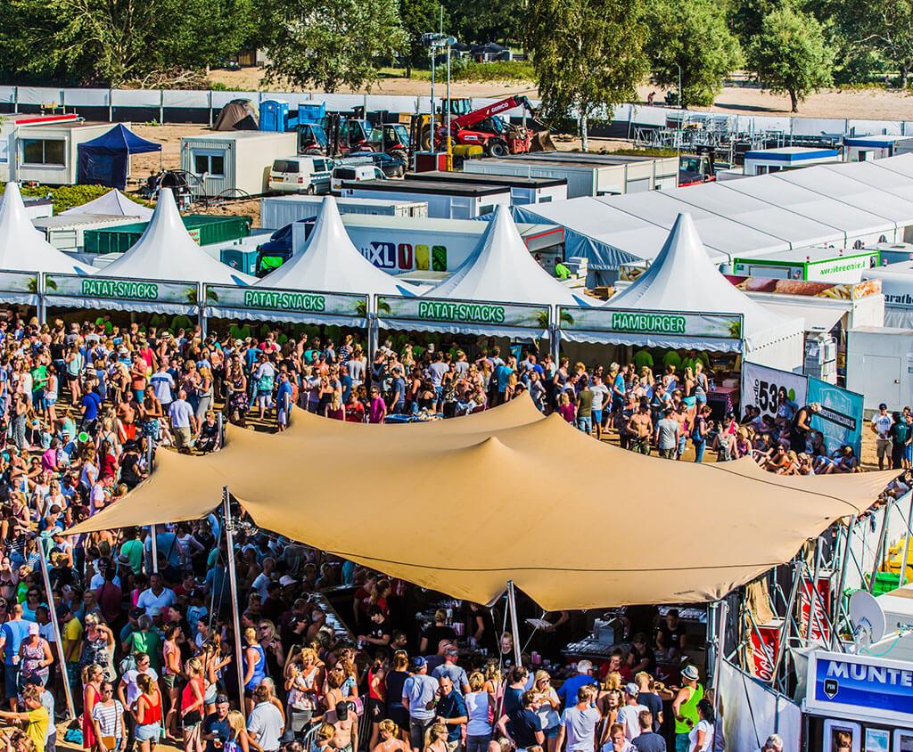 Festivalzelt Zand Festival