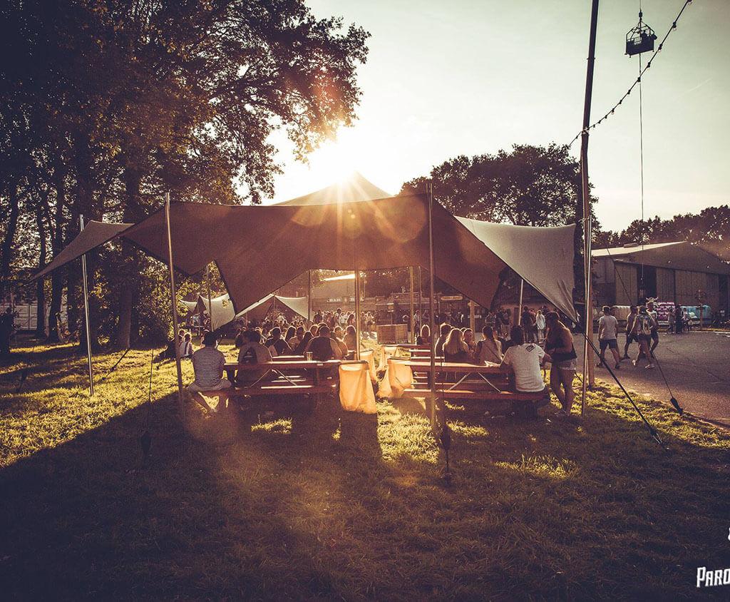 Stretchzelt Festival mieten