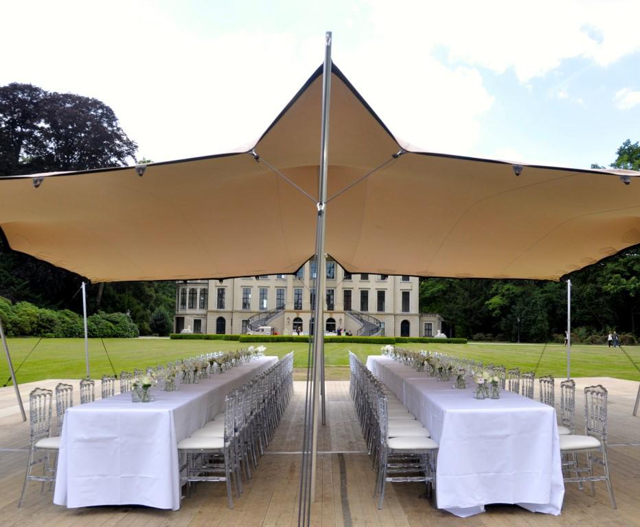 Flexzelt - Flextent - Bruiloft tent - Landgoed & Kasteel