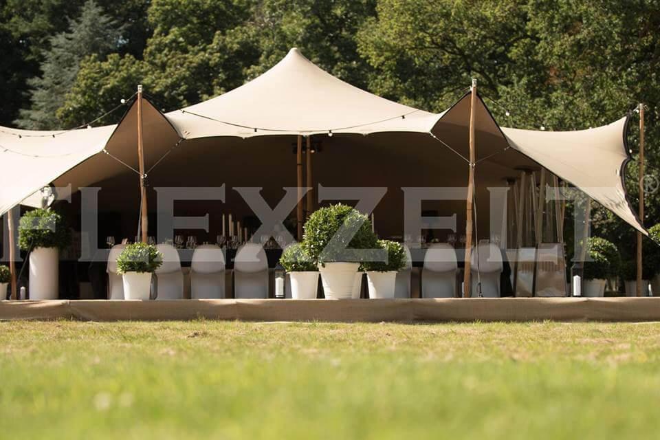 Flexzelt® - Gastronomie - Flextent® - Catering