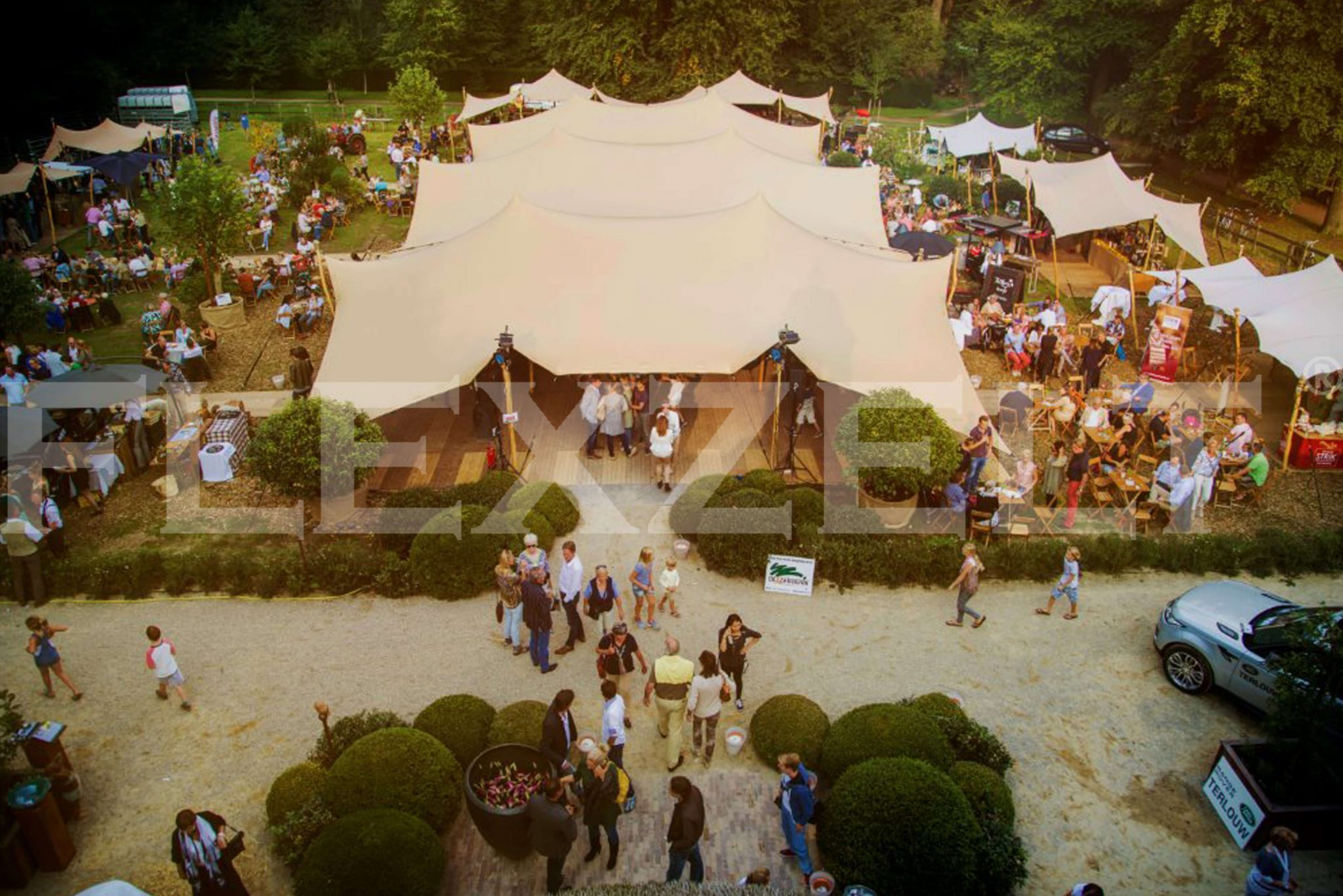 Flexzelt® - Flextent® - Sommer Event - Zomer Evenement