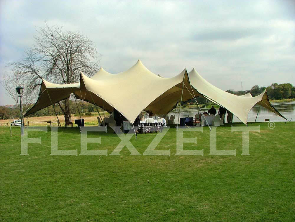 Flextent® - Flexzelt® - Hochzeiten - Aan Water